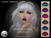 :ED:: Darkness falls lipsticks- Catwa mesh head applier