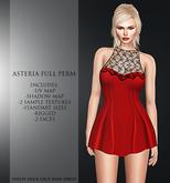 Asteria Full Perm - Philiy Neck Lace Mini Dress - Full Perm