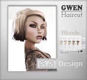 [sYs] GWEN Hair (unrigged) - Blonde