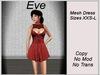 Eve Dress Red
