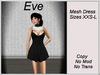 Eve Dress Black&White