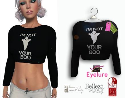 Eyelure Softest Crop Top Classic/Belleza/Slink/Maitreya  NOT YOUR BOO!