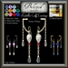 Beloved Jewelry : Radella Cuff Earrings (Copy Version Boxed) Texture Change-Silver, Platinum, Gold, Gemstones, Sapphire