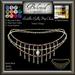 Beloved Jewelry : Radella Belly Hip Chain (Texture Change) Choice of Silver, Platinum, Gold, 12 Gems, Amethyst, Sapphire