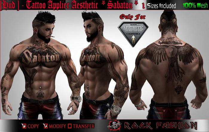 Tattoo sabaton Wolf Van