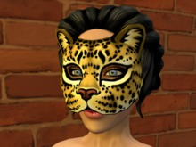 Wild Cat - Leopard Mask