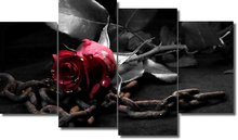 Gothic 3 - Chained Rose - Panel Wall Art - Boxed