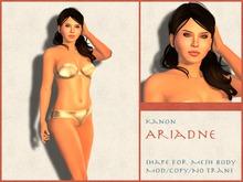 Kanon Female Shape - Ariadne - For Slink Physique