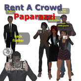 Rent A Crowd greeters - Paparazzi 1.0 Box