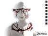Zibska ~ Visitante Color Change Thorny Crown and Collar