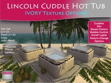 Moco Emporium ~ Cuddle Hot Tub + Texture Change (IVORIES) v2