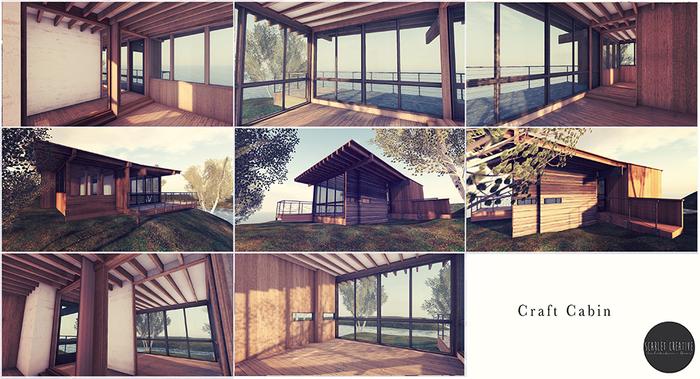 Scarlet Creative Craft Cabin