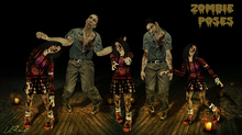 :::L.Pearl::: - Zombie Poses