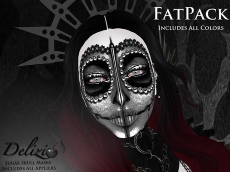Delizio - Sugar Skull Masks + LIP & Face HUDS FATPACK
