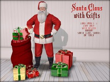 Boudoir Christmas -Santa Claus with Gifts