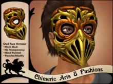 Owl Face Armour (Bronze)
