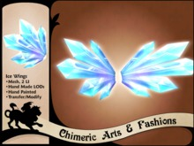 Ice Wings (Blue)