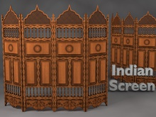 MADRAS Indian Wooden Dressing/split screen Updated
