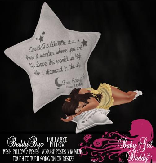 [BABYGIRLNDADDY2]Lullabye Star-Twinkle Twinkle-white