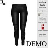 DE Designs - Andrea Pants - DEMO