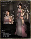 """TWA"" Seraphim Orion Gown Set-Breeze"