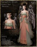 """TWA"" Seraphim Orion Gown Set-Meadow"