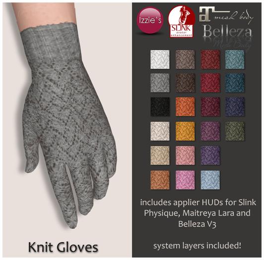 Izzie's - Knit Gloves