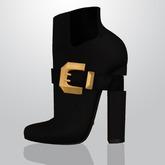 Lowen - Belted Boots [Black]
