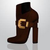 Lowen - Belted Boots [Caramel]