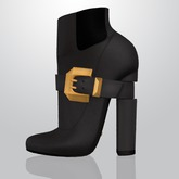 Lowen - Belted Boots [Grey]
