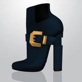 Lowen - Belted Boots [Navy]