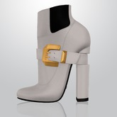 Lowen - Belted Boots [White]