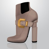 Lowen - Belted Boots [Nude]
