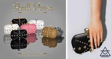 Skull Purse Gold/Black