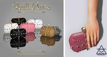 Skull Purse Gold/Pink