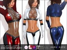 KARU KARU - Latex Outfit Carmen (COLOR PACK 1)