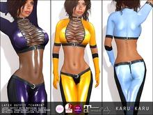 KARU KARU - Latex Outfit Carmen (COLOR PACK 2)