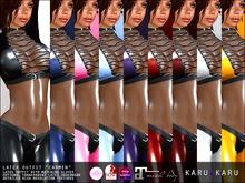 KARU KARU - Latex Outfit Carmen (ALL COLORS)