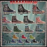 L&B  Mens Color Sneaker Slate Blue set NO17