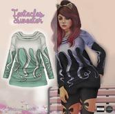 "Tentacles Sweater """" (mesh) - even.flow"