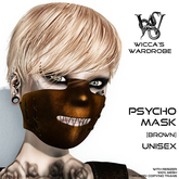 Wicca's Wardrobe - Psycho Mask [Brown] [BOXED]