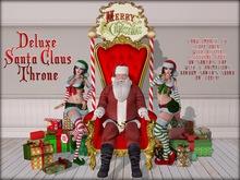 Boudoir Christmas -Deluxe Santa Claus with Elfs