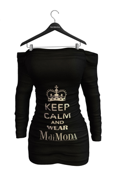 MdiModa - [Gift] November 2015 Off Shoulder Dress