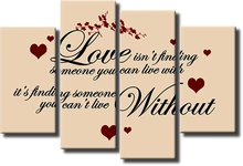 Love isnt't . Panel Wall Art - Tidbits - BOXED