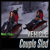 {♥ CUTE♥ } Sled for Couples