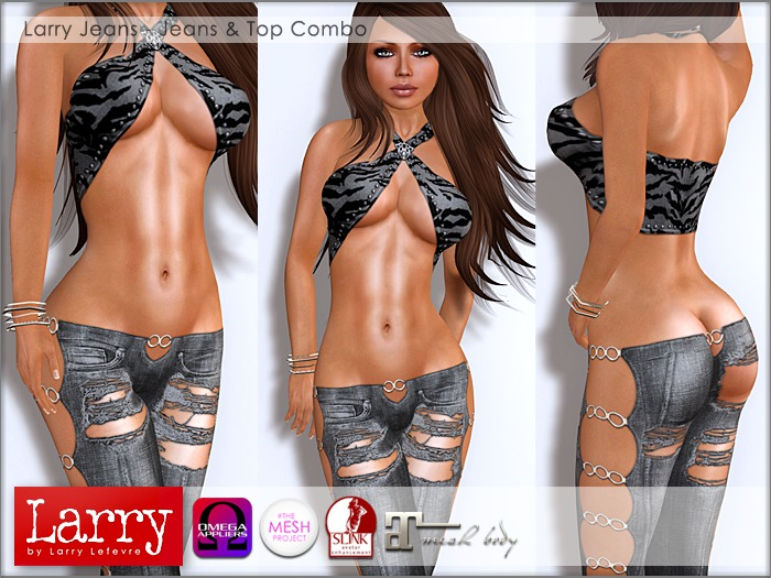 LARRY - Jeans & Top Combo 05