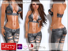 LARRY - Jeans & Top Combo 12