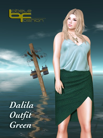 Babele Fashion :: Dalila Outfit Green