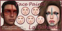 [LB Face Paints] Organic Tribals Set 3