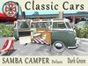 [AIKIOTO] Samba Camper Dark Green Deluxe (BOX)
